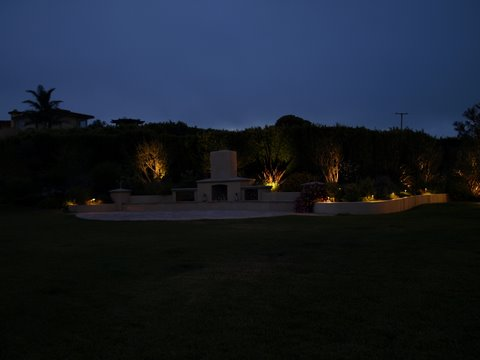 camarillo landscape lighting patio area