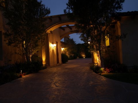 camarillo modern landscape lighting